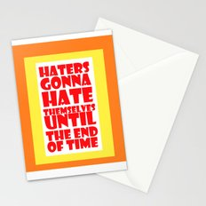 Haters Stationery Cards