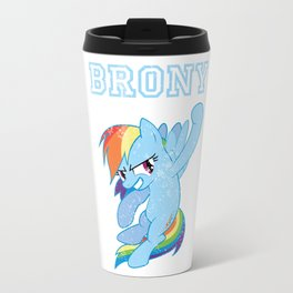Brony Rainbow Dash Travel Mug