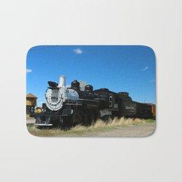 Denver & Rio Grande Steam Engine Bath Mat