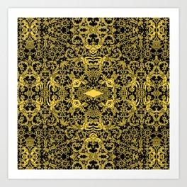 Lace Variation 08 Art Print