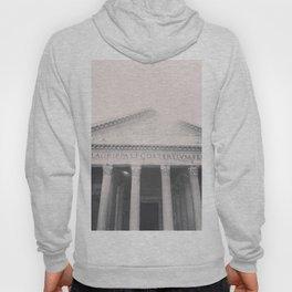 The Pantheon, fine art print, black & white photo, Rome photography, Italy lover, Roman history Hoody