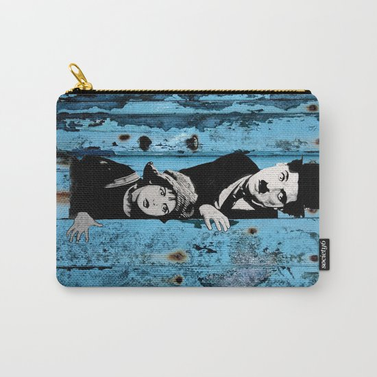 Chaplin and the kid - Urban ART Carry-All Pouch