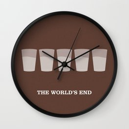 The World's End Wall Clock