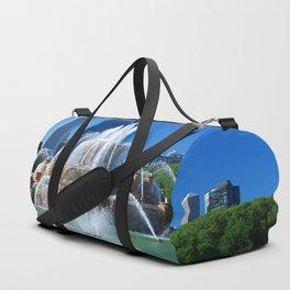 Buckingham fountain Duffle Bag