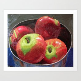 Cortland Apples Art Print