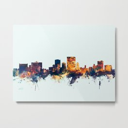 El Paso Texas Skyline Metal Print