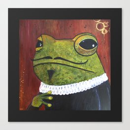 William Frogspeare Canvas Print