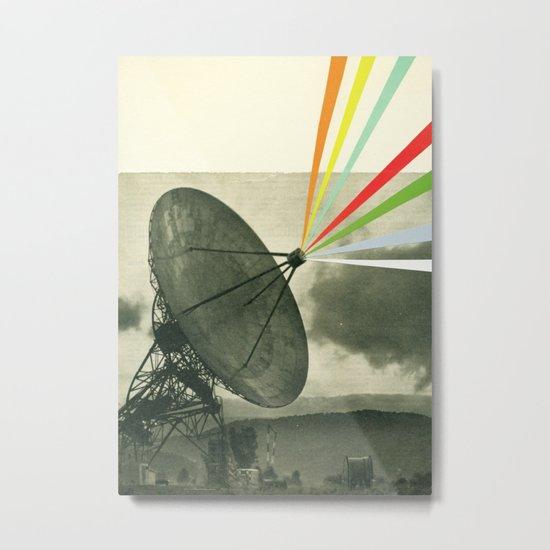 Earth Calling Metal Print