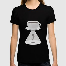 Beam Me Up Coffee T-shirt