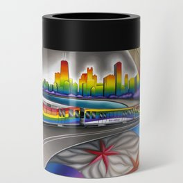Windy City Pride Can Cooler