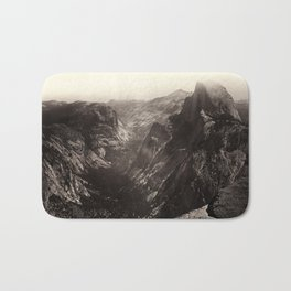 Half Dome, Yosemite Valley, California Bath Mat