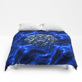 Lion Plasma Blue Comforters