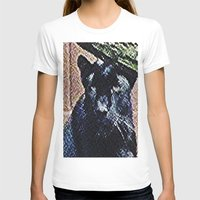 panther T-shirts featuring Panther by grapeloverarts