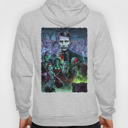 Hannibal Holocaust - They Live Return of the Living Dead Mads Mikkelsen Hoody