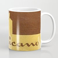 cigarette Mugs featuring Mexicano - Vintage Cigarette by Fernando Vieira