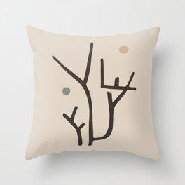 Modern poster Paul Klee - Park Bei Lu, 1938. Throw Pillow
