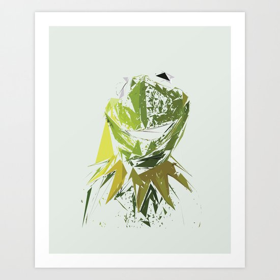 Kermit the Frog Art Print
