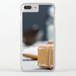 spa settings Clear iPhone Case