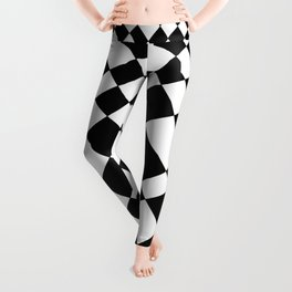 Chequered Large Pattern - by Rui & Cheryl Leggings
