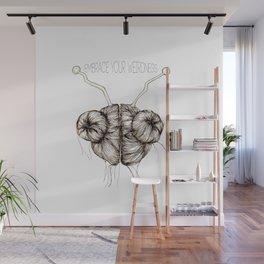 Embrace Your Weirdness Wall Mural