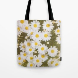 Retro Daisies Tote Bag