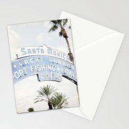 Santa Monica Sign Stationery Cards