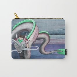 Spirited Away - Sen and Haku Landscape Artwork Carry-All Pouch