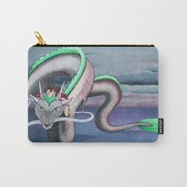 Spirited Away - Sen and Haku Landscape Artwork Carry-All Pouch