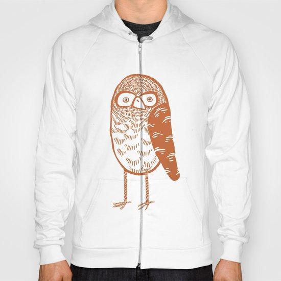 Neutral Owl Hoody