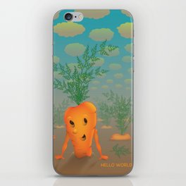 runaway carrot iPhone Skin
