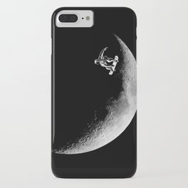 Moon boarder iPhone Case