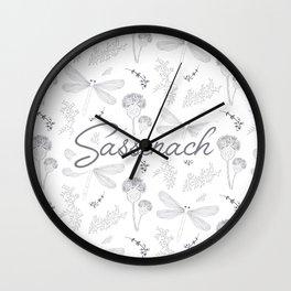 Sassenach Wall Clock