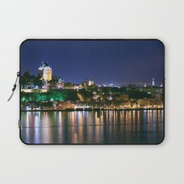 Quebec City By Night Laptop Sleeve