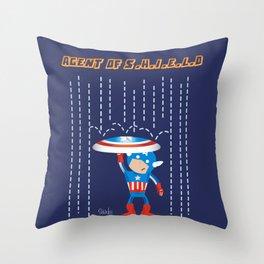 Agent Of S.H.I.E.L.D. Throw Pillow