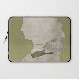 Anne Brontë Agnes Grey - Minimalist literary design Laptop Sleeve