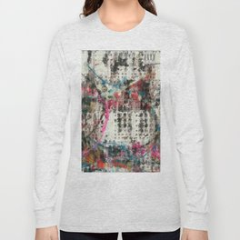 Analog Synthesizer, Abstract painting / illustration Long Sleeve T-shirt