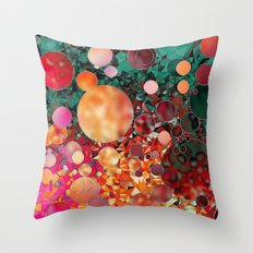 planetary mischief  Throw Pillow