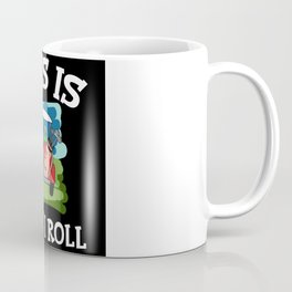 This Is How I Roll Golfing Course Golf Coffee Mug