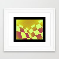chess Framed Art Prints featuring chess by Y.A.S.
