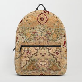 Silk Tabriz Azerbaijan Northwest Persian Rug Print Backpack