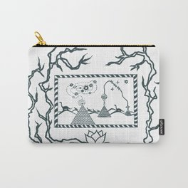 The Canvas of Eras Carry-All Pouch