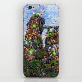 DeepDream Pictures, Rocks iPhone Skin