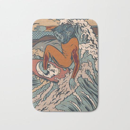 Media Surf Bath Mat