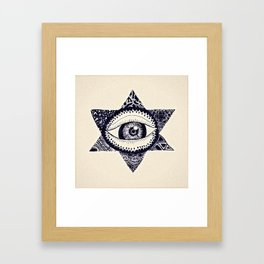 Starry Eyed by Tarachand Framed Art Print
