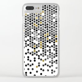 Beehive Clear iPhone Case
