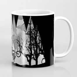 MTB Black Trees Coffee Mug