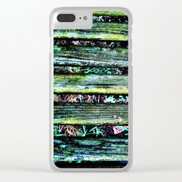 Bench Slats Clear iPhone Case