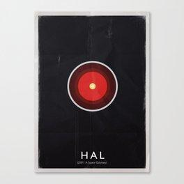 AI - HAL Canvas Print