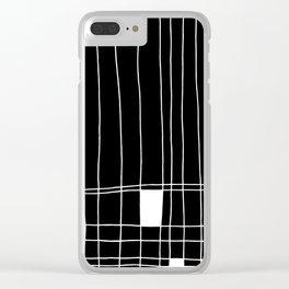 Mr. Mondrian Clear iPhone Case