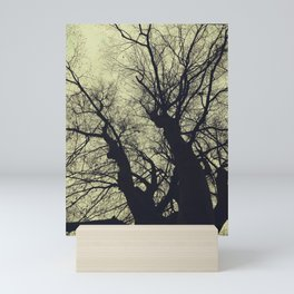 Branches against the sky Mini Art Print